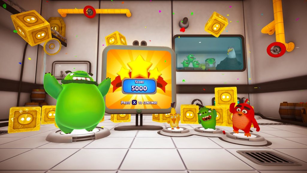 The Angry Birds Movie 2 Vr Under Pressure Brings Chaotic Couch Co